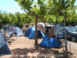 Tents In the Campsite La Union
