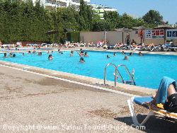 The Swimming Pool At La Siesta Camp Site In Salou
