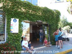 The Reception At Sanguli Camping In Salou