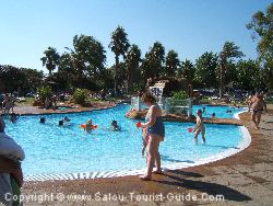 The Pool At Sanguli Camping In Salou