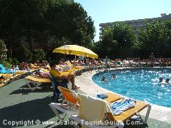 In An Apartment Block Rented By A Tour Operator Everyone Will Be On Holiday And Enjoying The Facilities Such As The Pool