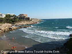 The Beaches At Cap Salou Are Smaller And Set Against A Backdrop Of Pine Clad Hills