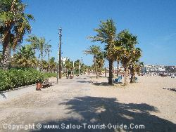 The Llevant Beach In Salou Has Plenty Of Space Even In August