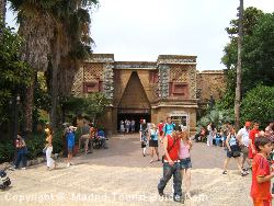 This Building Is In The Mexican Zone Of The Port Aventura Theme Park