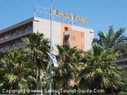 The Europa Park Hotel In Salou