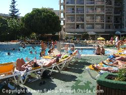 The Pool At The Belvedere Hotel Salou