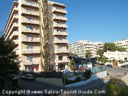 The Cala Font Hotel Salou Is On A Slope Next To The Beach
