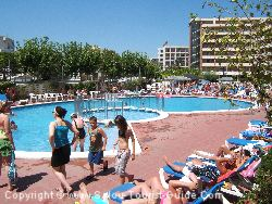 One Of The Pools At The California Garden Hotel Salou