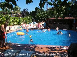 La Piscine à l'Hôtel California Palace, Salou