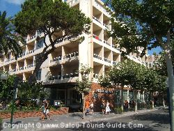 The Planas Hotel Is A Cheap Hotel In Salou Spain