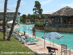 One Of The Swimming Pools At The Hotel Caribe, Salou