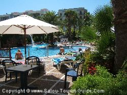 The Pool And Terrace At The Hotel H10 Princess In Salou