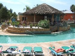 One Of The Poolside Bars At The Caribe Hotel Near Port Aventura Theme Park. The Perfect Place To Relax