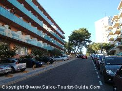 The Street Next To The Hotel Molinos Park Salou