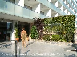 The Entry Into The Salou Park Hotel