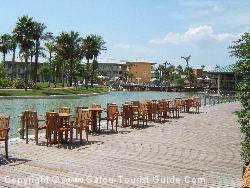 There's A Lovely Decked Terrace Area For Sitting Out Next To The Lake And Sipping A Drink