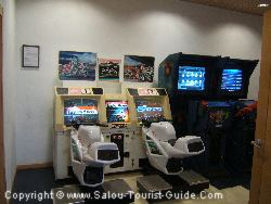 The Games Room In The Piramide Hotel Salou