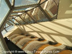 The Interior Balconies At The Piramide Salou Sol Hotel