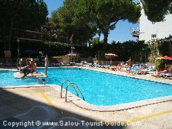 The Pool At The Playa Park Hotel Salou