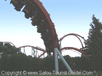 One Of The Dizzying Loops On Dragon Khan