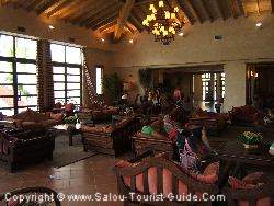 Relaxing Inside The El Paso Hotel At Port Aventura. This Is One Of The Hotels Available To Book As Part Of A Package Deal