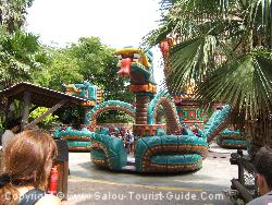 The Serpiente Emplumada (Sacred Serpent) Is A Great Ride For The Youngsters